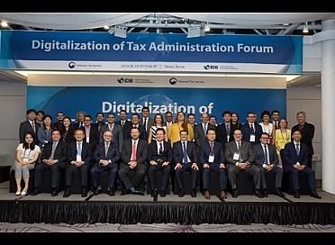 [국제포럼지원]디지털 조세 행정 포럼(19.06.24~28)